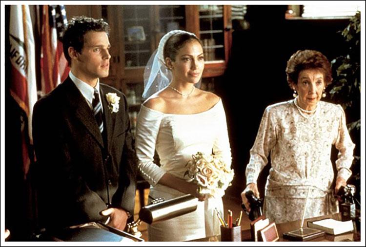 My favorite 5 tv movie wedding dresses filmsane for Jlo wedding dress